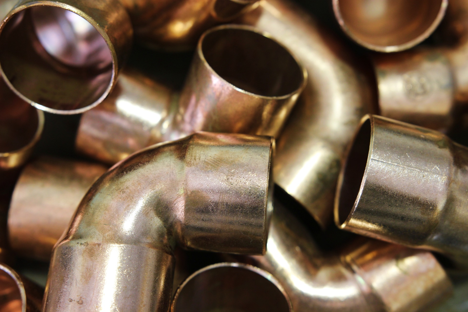 copper fittings and fixtures